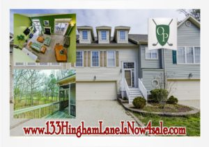 133 Hingham Lane Is Now For Sale