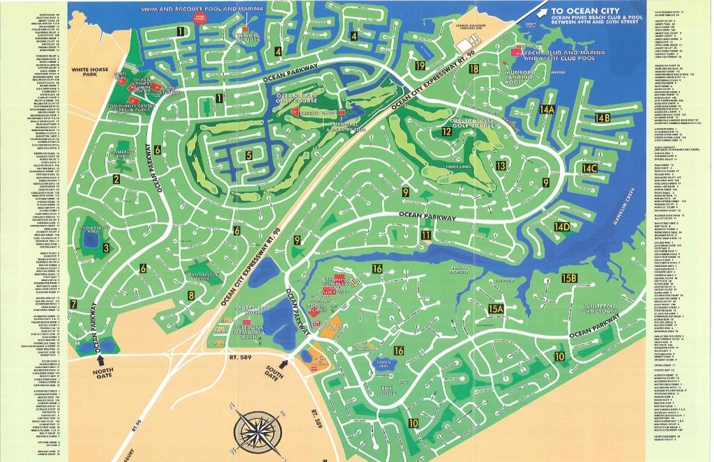 Ocean Pines Md >> Ocean Pines Sections Ocean City Ocean Pines Md Homes
